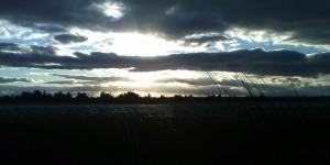 Winter Sunset over Maidstone Park