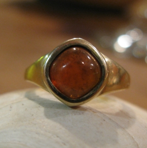 This ring was custom made for a dear friend.  Sometimes I am so happy when special piece is worn by a special person.